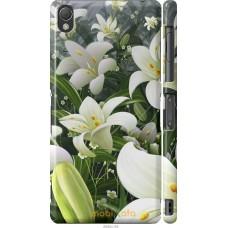 Чехол на Sony Xperia Z3 D6603 Лилии белые