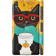 Чехол на Sony Xperia Z3 D6603 Осенний кот