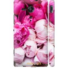 Чехол на Sony Xperia SP M35H Розовые цветы