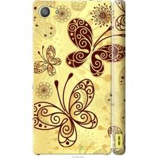 Чехол на Sony Xperia Z5 Compact E5823 Рисованные бабочки