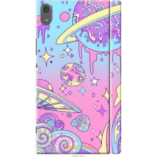 Чехол на Sony Xperia XA1 Ultra 'Розовый космос