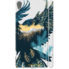 Чехол на Sony Xperia XA Арт-орел на фоне природы