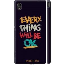 Чехол на Sony Xperia M4 Aqua Everything will be Ok