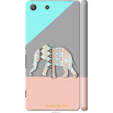 Чехол на Sony Xperia M5 Узорчатый слон