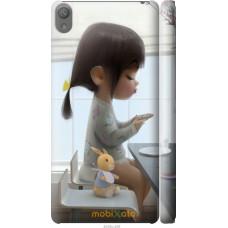 Чехол на Sony Xperia E5 Милая девочка с зайчиком