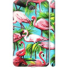 Чехол на Sony Xperia E4 Dual Tropical background