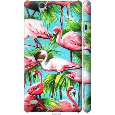 Чехол на Sony Xperia C4 Tropical background
