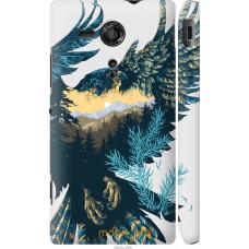 Чехол на Sony Xperia SP M35H Арт-орел на фоне природы