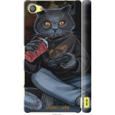 Чехол на Sony Xperia Z5 Compact E5823 gamer cat