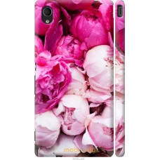 Чехол на Sony Xperia M4 Aqua Розовые цветы