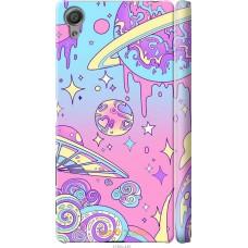 Чехол на Sony Xperia X 'Розовый космос