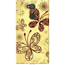 Чехол на Sony Xperia L2 H4311 Рисованные бабочки