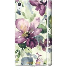 Чехол на Sony Xperia Z5 Premium Акварель цветы