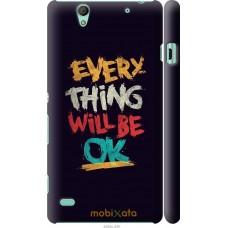 Чехол на Sony Xperia C4 Everything will be Ok