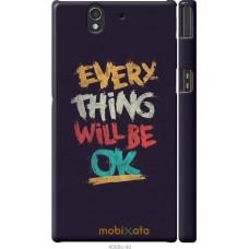 Чехол на Sony Xperia Z C6602 Everything will be Ok
