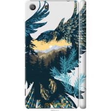 Чехол на Sony Xperia M5 Арт-орел на фоне природы