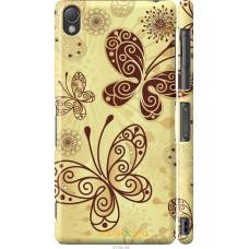 Чехол на Sony Xperia Z3 D6603 Рисованные бабочки