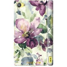Чехол на Sony Xperia Z5 Compact E5823 Акварель цветы