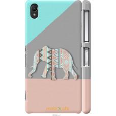 Чехол на Sony Xperia Z2 D6502|D6503 Узорчатый слон