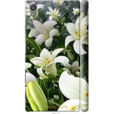 Чехол на Sony Xperia Z5 Лилии белые
