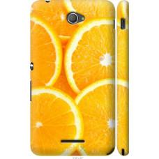 Чехол на Sony Xperia E4 Dual Апельсинки