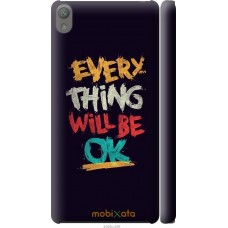 Чехол на Sony Xperia E5 Everything will be Ok