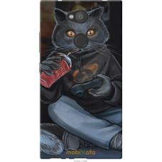 Чехол на Sony Xperia L2 H4311 gamer cat