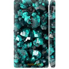 Чехол на Sony Xperia SP M35H Кристаллы 2