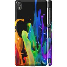 Чехол на Sony Xperia Z3 dual D6633 брызги краски