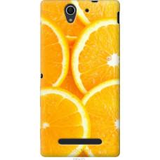 Чехол на Sony Xperia C3 Апельсинки