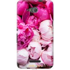 Чехол на Sony Xperia E4g Розовые цветы