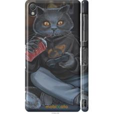 Чехол на Sony Xperia Z3 D6603 gamer cat