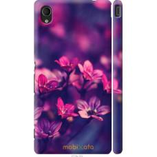 Чехол на Sony Xperia M4 Aqua Весенние цветочки