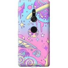 Чехол на Sony Xperia XZ2 'Розовый космос