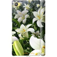 Чехол на Sony Xperia Z5 Compact E5823 Лилии белые