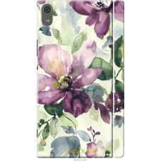 Чехол на Sony Xperia XA1 Ultra Акварель цветы