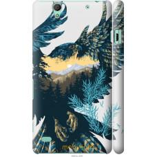 Чехол на Sony Xperia C4 Арт-орел на фоне природы