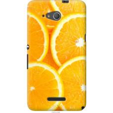 Чехол на Sony Xperia E4g Апельсинки