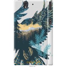 Чехол на Sony Xperia Z C6602 Арт-орел на фоне природы