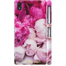 Чехол на Sony Xperia Z2 D6502 D6503 Розовые цветы