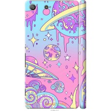 Чехол на Sony Xperia M5 'Розовый космос