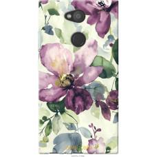 Чехол на Sony Xperia L2 H4311 Акварель цветы