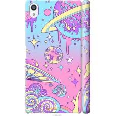 Чехол на Sony Xperia Z5 Premium 'Розовый космос