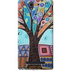Чехол на Sony Xperia C3 Арт-дерево