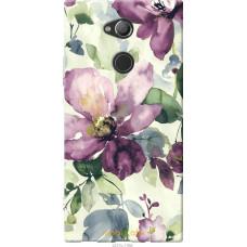 Чехол на Sony Xperia XA2 Ultra H4213 Акварель цветы