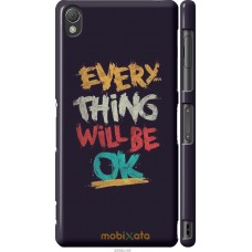 Чехол на Sony Xperia Z3 dual D6633 Everything will be Ok