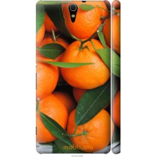 Чехол на Sony Xperia C5 Ultra Dual E5533 Мандарины