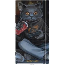 Чехол на Sony Xperia XA1 gamer cat