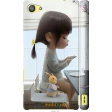 Чехол на Sony Xperia Z5 Compact E5823 Милая девочка с зайчик
