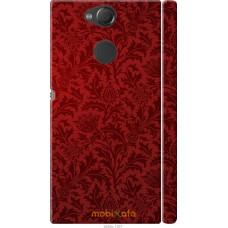 Чехол на Sony Xperia XA2 Чехол цвета бордо